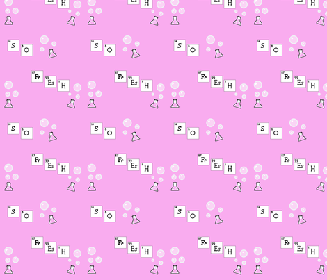 periodic_in_pink19 fabric by katskratch on Spoonflower - custom fabric