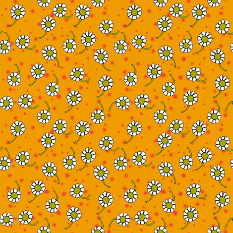 flowers fabric by joojoostrees on Spoonflower - custom fabric