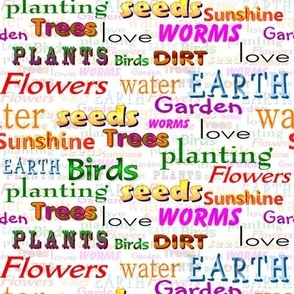 Garden words to live by!