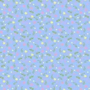 Ditsy blue bee
