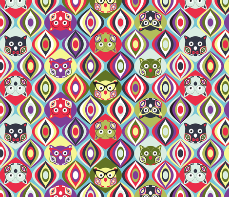 Wise Guys fabric by mag-o on Spoonflower - custom fabric