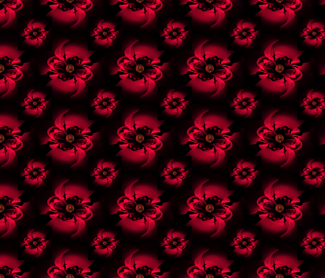 red_roses fabric by bluewrendesigns on Spoonflower - custom fabric
