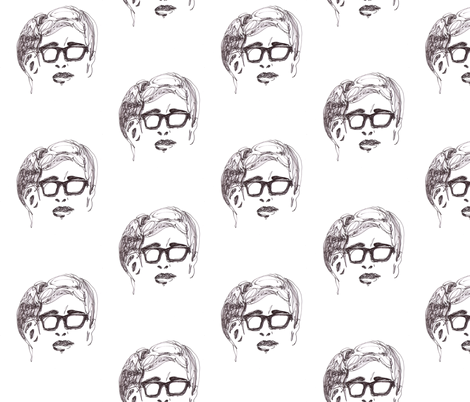 Geek Hero 1 fabric by kcs on Spoonflower - custom fabric