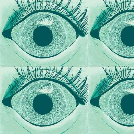 eye see you fabric by iamseamonster on Spoonflower - custom fabric