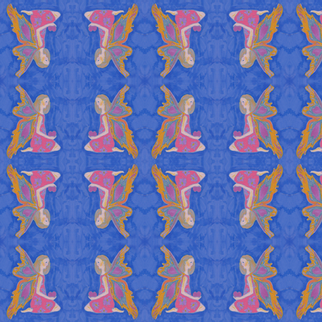 fairy fabric by vonblohn on Spoonflower - custom fabric