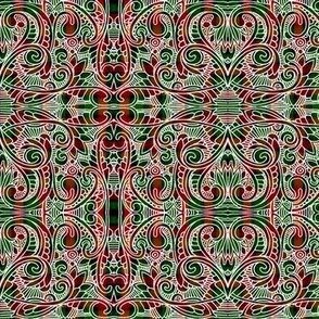 Christmas Gift Wrap Plaid