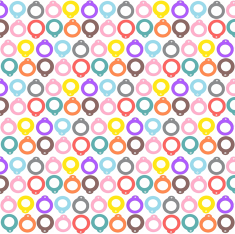 blythe pullring multicolor fabric by jupolatti on Spoonflower - custom fabric