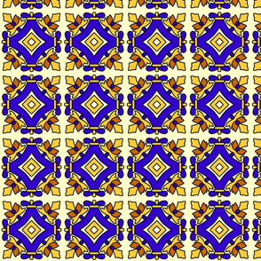 Mexican tiles squares