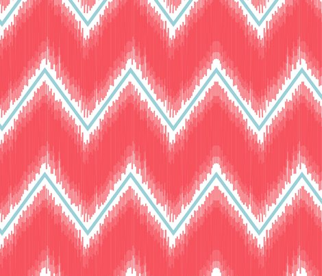 Ikat_chevron_coral_shop_preview