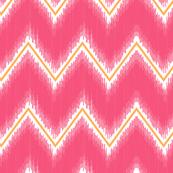 Ikat_Chevron_Pink_Mango