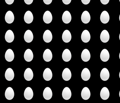 Eggs fabric by kiwiandsteve on Spoonflower - custom fabric