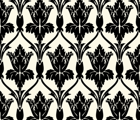 Sherlock Pattern Rotate fabric by edenkestral on Spoonflower - custom fabric