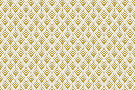 Anna Chevron fabric by fox&lark on Spoonflower - custom fabric