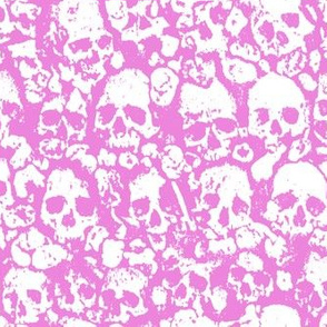 Skull Wall Pink. 