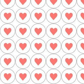 coral hearts