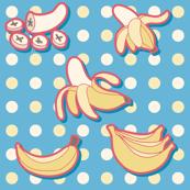 Bananas and Polk-a-dots