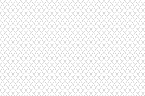 Lattice in Grey and White fabric by cavendish on Spoonflower - custom fabric