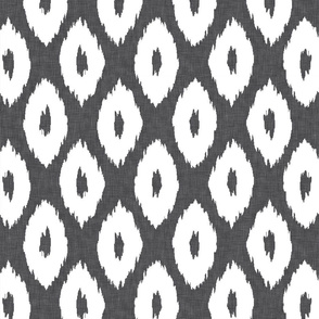 Ikat_Polka_Dot_Charcoal