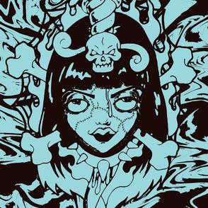 zombiegirl-blue