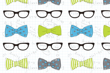 Math Nerd fabric by audreyclayton on Spoonflower - custom fabric