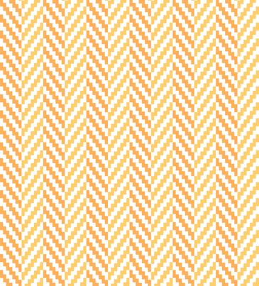 Aztec_Chevron_Mango fabric by crisbucknall on Spoonflower - custom fabric