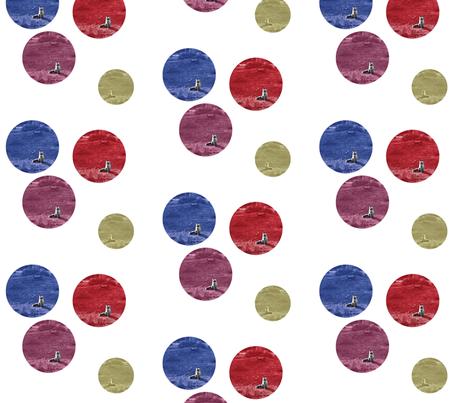 Pois_little fox fabric by evasauer on Spoonflower - custom fabric