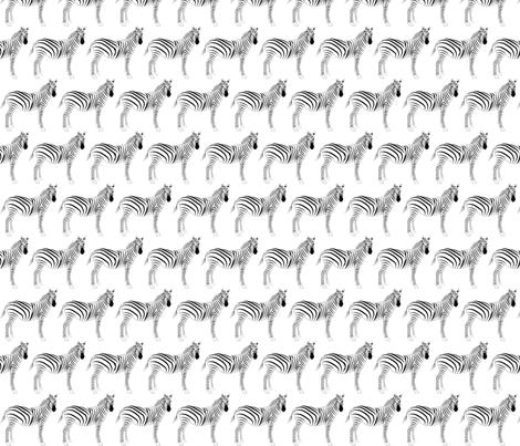 Zebra fabric by terriaw on Spoonflower - custom fabric