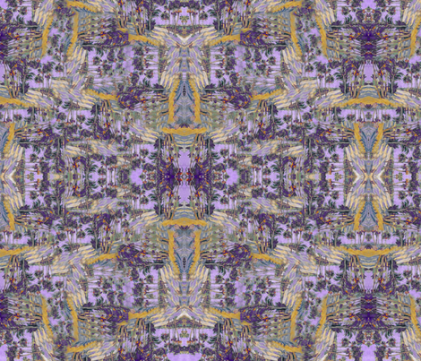 Violet Beach fabric by missmorice on Spoonflower - custom fabric