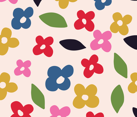 In_the_garden fabric by pragya_k on Spoonflower - custom fabric