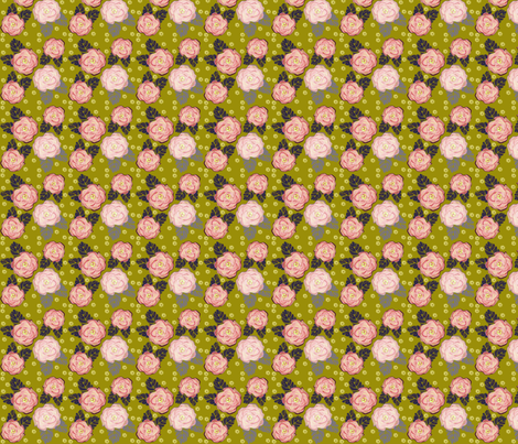 Smell the Roses fabric by alyssaray on Spoonflower - custom fabric