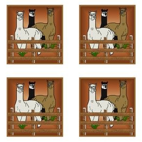 Alpacas Trio Ornament