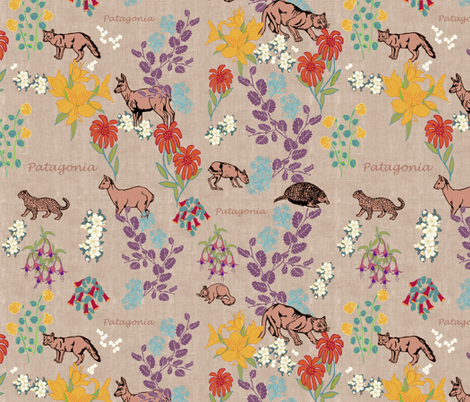 Patagonia  fabric by kirpa on Spoonflower - custom fabric