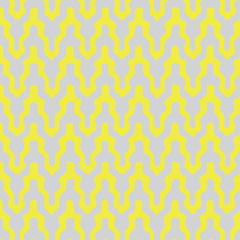 When I zig you zag fabric by mezzime on Spoonflower - custom fabric