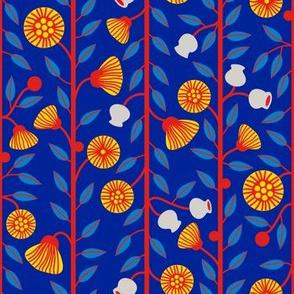 Gumnuts & Flowers