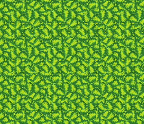 lush_leaves_seamless fabric by bluewrendesigns on Spoonflower - custom fabric