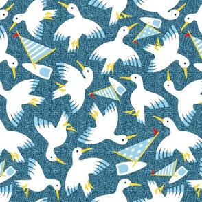 Sailing Birds