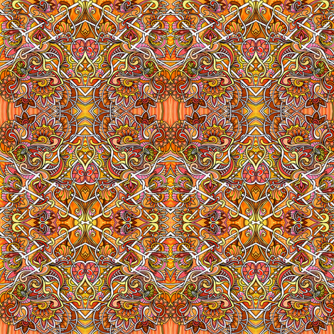 The Orange of Autumn fabric by edsel2084 on Spoonflower - custom fabric