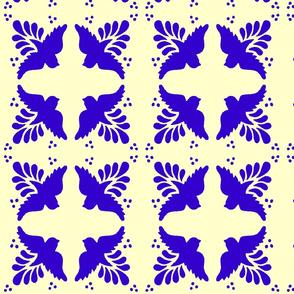 Mexican tiles birds