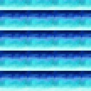 Pixel Me ombrè - Mirror Repeat