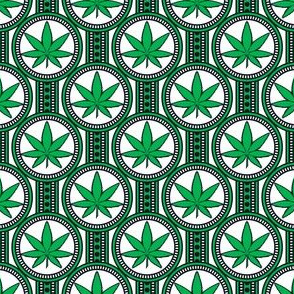 Small Hemp Leaf Design