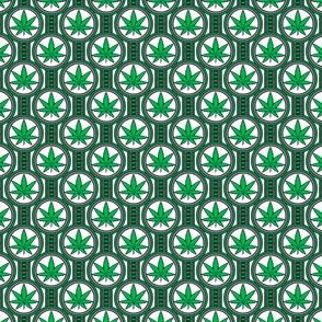 Small Hemp Leaf Design 300