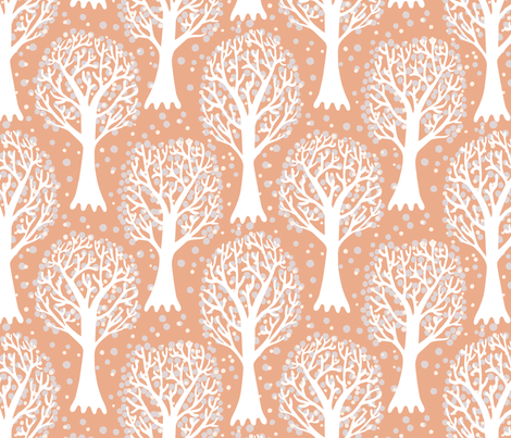 trees2 fabric by kezia on Spoonflower - custom fabric