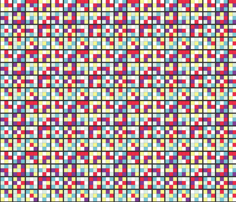 Be a Square fabric by mag-o on Spoonflower - custom fabric