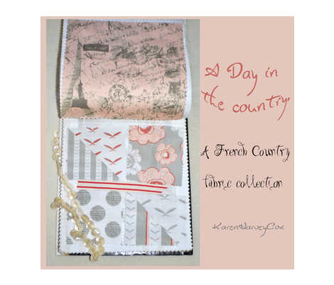 A Day in the Country, A French Country fabric collection fabric by karenharveycox on Spoonflower - custom fabric