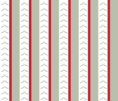 Countryside Bees Stripe-ch