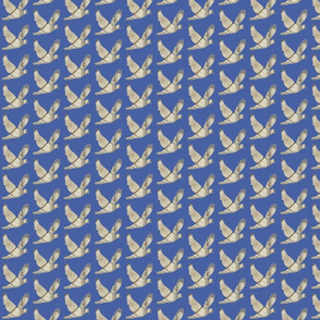 Parisian Dove French country blue