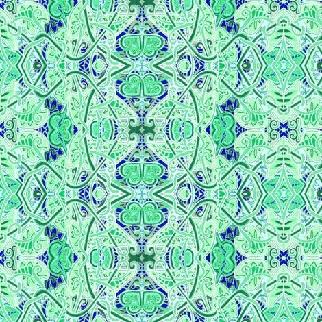 Kiss Me Even Though I'm Not Irish fabric by edsel2084 on Spoonflower - custom fabric