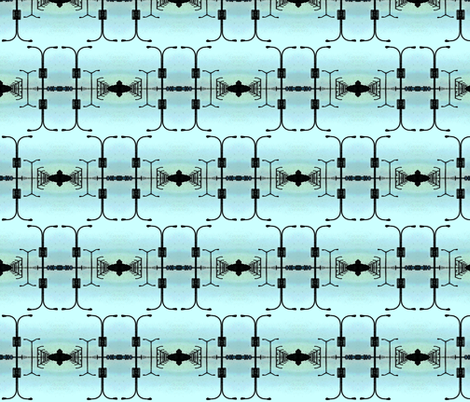 Street Light Infinitum fabric by relative_of_otis on Spoonflower - custom fabric