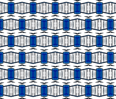 Not a TARDIS fabric by relative_of_otis on Spoonflower - custom fabric
