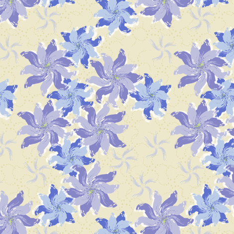 Twilight Garden fabric by jjtrends on Spoonflower - custom fabric